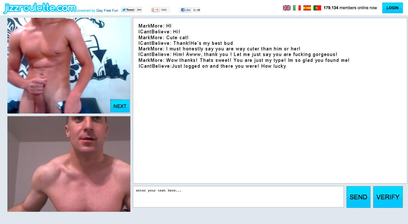 gay sex chatroulette