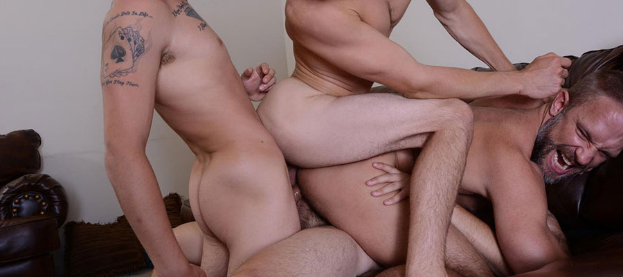 Hot Rick Baber deserves TRIPLE penetrated by his stepsons