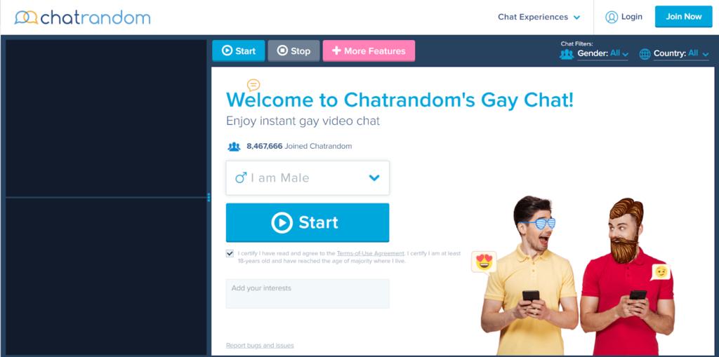 Gay chatrandom review